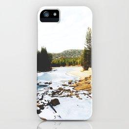 Hume Lake, CA II iPhone Case