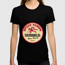 Hot Rod Retro Decal T-shirt