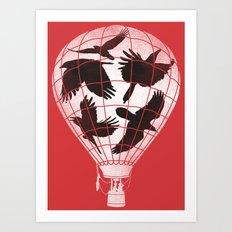 Fake Freedom Art Print