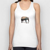 happy Tank Tops featuring Love Wish Lanterns by Paula Belle Flores