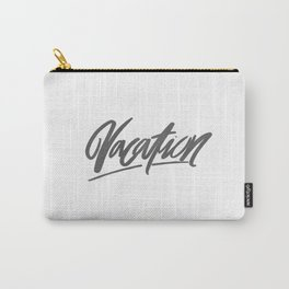Vacation Brushlettering Carry-All Pouch