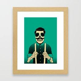 Holy Bones Framed Art Print
