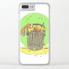 Scum Bucket Clear iPhone Case