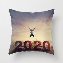 2020 Throw Pillow