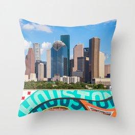 Houston, Texas Throw Pillow