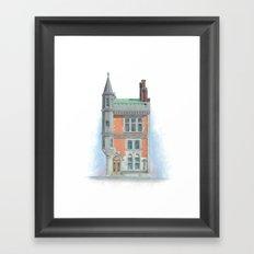 63 State Street Framed Art Print