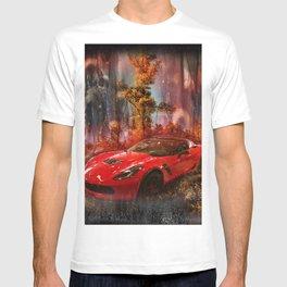 Driving Into A Strange New World T-shirt