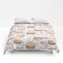 Cat burgers Comforters