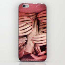 hands iPhone Skin
