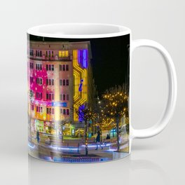 Pictures Poland Christmas Town square Katowice Str Coffee Mug