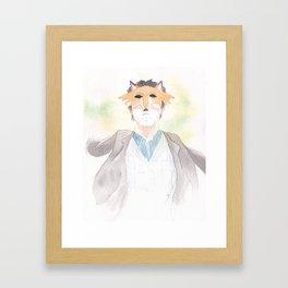 Masquerade Framed Art Print