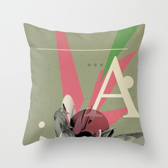 (Times) A Throw Pillow