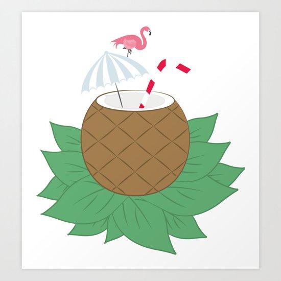 Cocktail Art Print