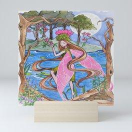 Fairy saddness Mini Art Print
