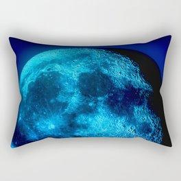 Blue Moon Rectangular Pillow