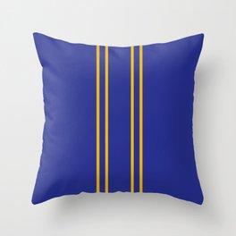 Chun Li Collant Stripes Throw Pillow