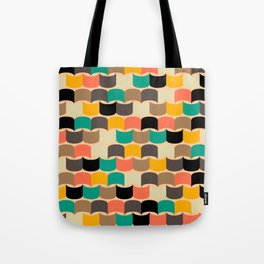 Retro abstract pattern Tote Bag