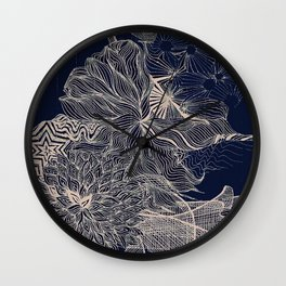 ..you will connect the dots eventually. Wall Clock