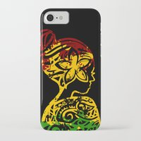rasta iPhone & iPod Cases featuring Rasta Lady by Lonica Photography & Poly Designs