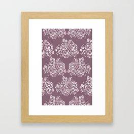 Seal of Roses Framed Art Print