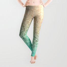 GOLD AQUA Leggings