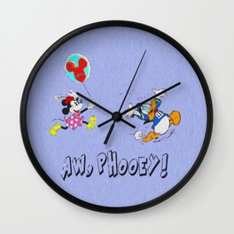 Minnie, The Balloon Lady! runDisney Wall Clock