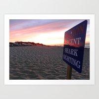 cape cod Art Prints featuring Cape Cod by LindsayAlannah