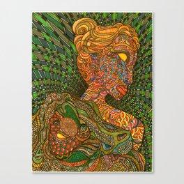 Scarlet & Equine Canvas Print