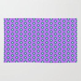 Mandala pattern smal purple Rug