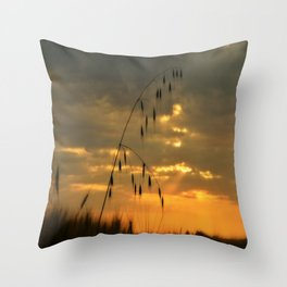 The Heat of the Night Throw Pillow