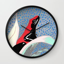 Rain Forest Frog Wall Clock