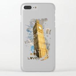 Big Ben 02 Clear iPhone Case