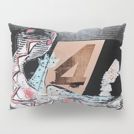 The Painted Lizard - Number Four Pillow Sham