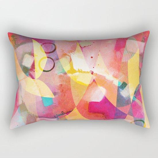 Sunrise Mess Rectangular Pillow