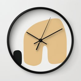 Shape Study #3 - Home Wall Clock
