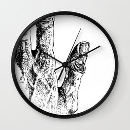 2 tools Wall Clock