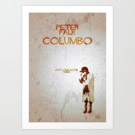 "Columbo - ""Just One More Thing"" Art Print"