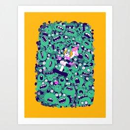 Keen Art Print