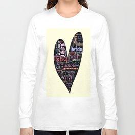 Multilingual Love Long Sleeve T-shirt