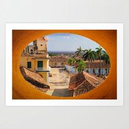 View of Trinidad Art Print