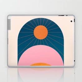 Abstraction_Sunshine_Minimalism_001 Laptop & iPad Skin