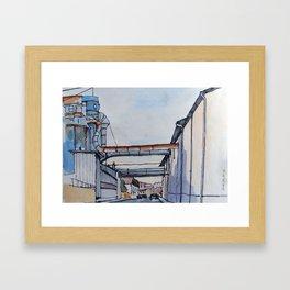 Disused Factory Framed Art Print
