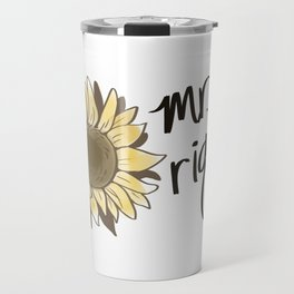 Mr. Right | Queer Couples / Polyamorous Triad Matching Mugs Travel Mug