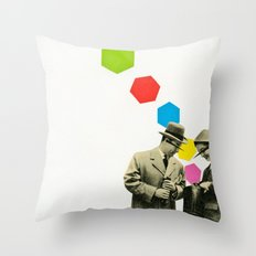 Look What I Brought! Throw Pillow