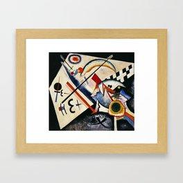 Wassily Kandinsky - White Cross Framed Art Print