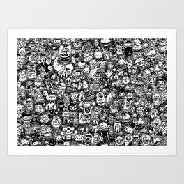 lichi! Art Print
