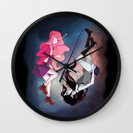 Stardust in your eyes Wall Clock
