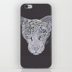 Leopard Gaze iPhone & iPod Skin