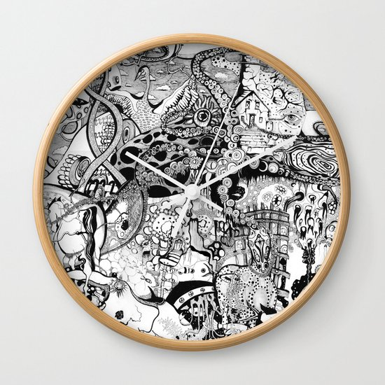 Destroyer Wall Clock