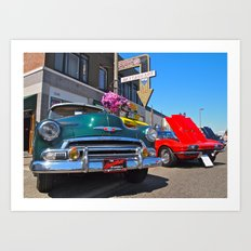 There's always cars! Art Print